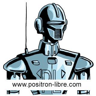 Mark Tilden avec son robot Robosapien